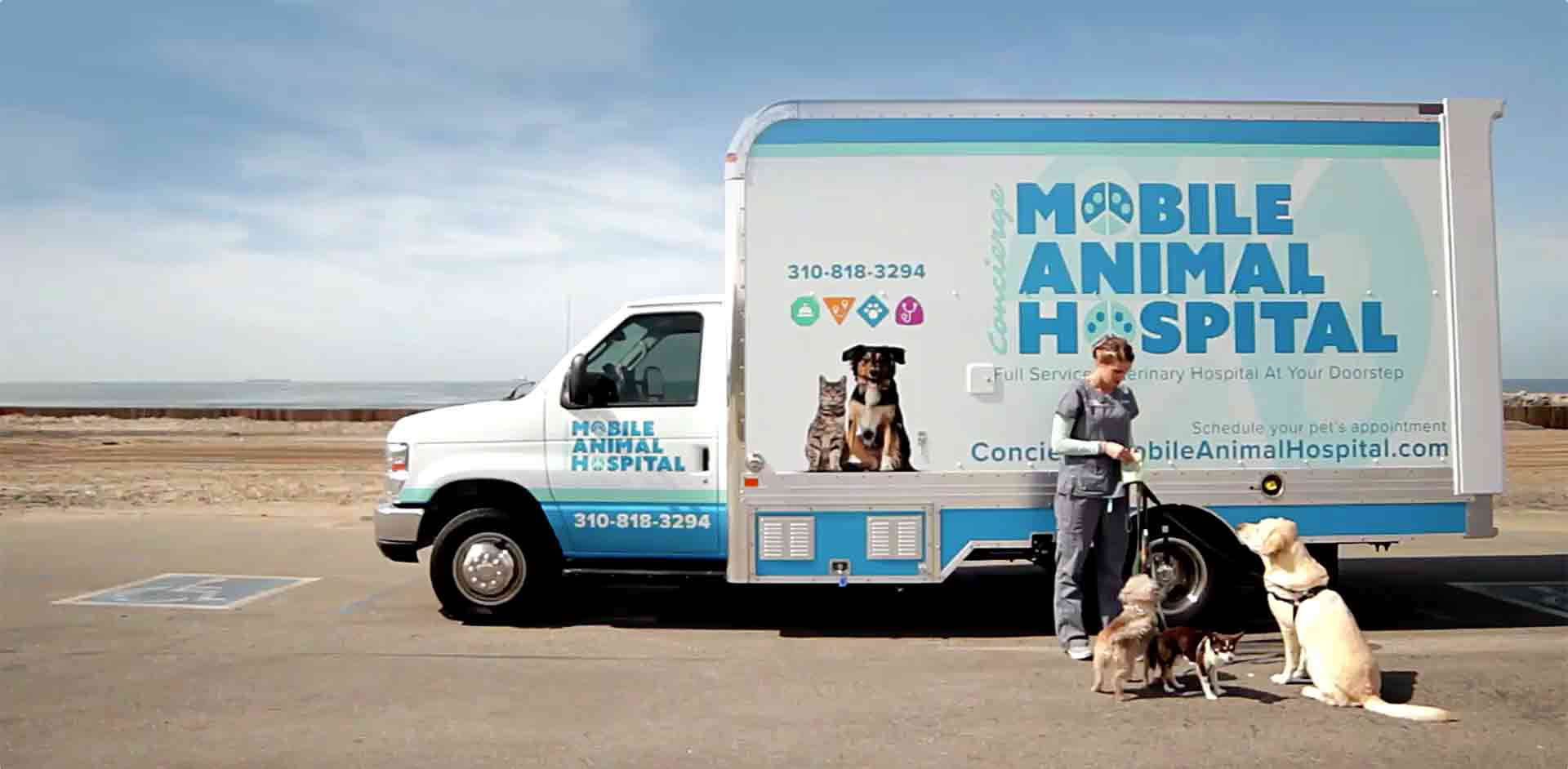 Concierge Mobile Animal Hospital truck